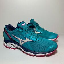Mizuno Wave Inspire 14 Women's Size 8 Peacock Blue Running Shoes CLEAN!