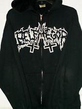 Belphegor-Supreme Black/Death Art-Zip Up Hoodie-NICE!