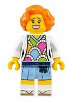 LEGO MINIFIGURE - LAUREN - FROM SET FIRE MECH 70615 - NINJAGO MOVIE