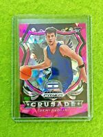 DENI AVDIJA CRUSADE PINK ICE PRIZM ROOKIE CARD ISRAEL RC WIZARDS SP  2020 Panini