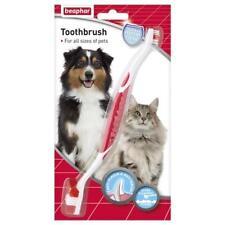 Beaphar Perro Gato Cachorro Gatito doble cara cepillo de dientes Cepillo Dental Cuidado de la salud
