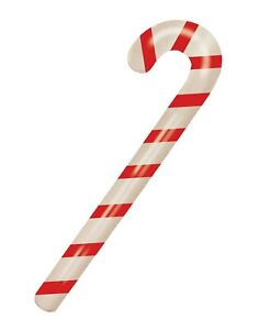 Inflatable Candy Stick 90cm Blow Up Cane Christmas Fancy Dress Party Decoration