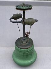 Wheatley Leaded lamp Base,Slag,Arts Crafts,Tiffany Studios,Handel Lamp Era