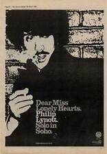 Phil Lynott Solo In Soho Thin Lizzy Advert NME Cutting 1980