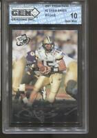 2001 Drew Brees Press Pass #2 Gem Mint 10 New Orleans Saints