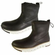 Cole Haan Leather Solid Boots for Men