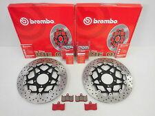 Brembo Bremsscheiben Bremse vorne + Bremsbeläge Triumph Speed Triple Tiger 1050