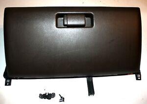 90 91 Honda Civic WAGON Glove Box glovebox Brown 77510SH5A00 w frame & bolts