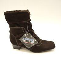 New Sesto Meucci Womens Waterproof Square Toe Heel Boot Size US 7.5 Narrow