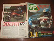 MOTOSPRINT 1978/13 SUPER GUIDA CORSE IRIDE I CAMPIONI A FUMETTI TRUCCHI ASTUZIE