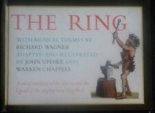 The Ring Richard Wagner John Updike & Warren Chappell 1964 Illustrated Book HTF