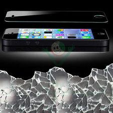 Pellicola VETRO temprato protettiva display pr iPhone SE 5 5S trasparente totale