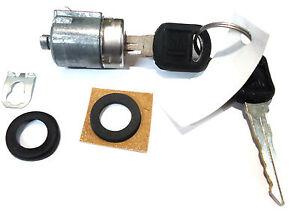 NEW GM OEM Door Key Lock Cylinder - W/ 2 GM KEYS - CHEVY GMC ISUZU OLDSMOBILE
