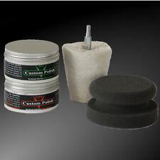 Custom polish 240g Chrome pâte CHROME vernis + polissage dissertation + professionnel polierpad