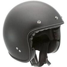 AGV RP60 Matte Black Solid Retro Street Helmet New XS X-Small