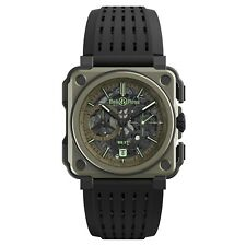 New Bell & Ross BR-X1 Military Automatic Mechanical 45 mm Watch BRX1-CE-TI-MIL