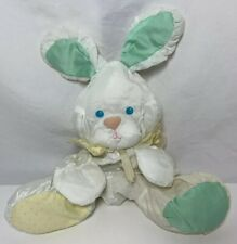 Fisher Price Puffalump Bunny Rabbit with Rattle Vintage 1988 1359 Quaker Oats