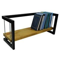 Bookshelf Rack Bookcase CD/DVD stand Modern Industrial Style Loft MADE IN EUROPE
