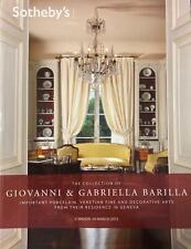 Giovanni & Gabriella Barilla. Meissen Porcelain 2012 Sotheby's Catalogue