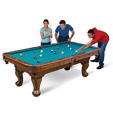 87'' Billiard Pool Table Sports Game Room Wood Classic Style Cue Sticks Ball Set