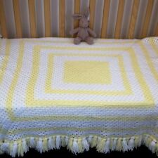 Unbranded Girls' Knitted Cot Nursery Blankets & Throws