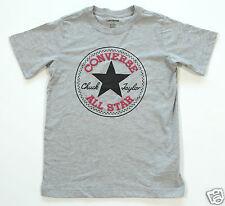Magliette, maglie e camicie grigio con logo per bambini dai 2 ai 16 anni