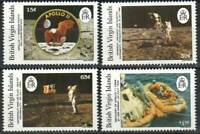 Virgin Islands Stamp - Moon Landing, 20th anniversary Stamp - NH