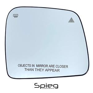 Side Mirror Glass for 2011-2021 DODGE Durango JEEP Grand Cherokee Passenger Side