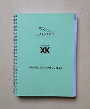 Manuel du conducteur JAGUAR XK8-XKR - X150 - 2009