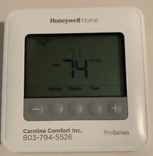 Honeywell T4 Programable Thermostat