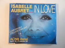 "ISABELLE AUBRET : IN LOVE - LOVE FOR SALE [ CD-MAXI ""disque Meys"" PORT GRATUIT ]"