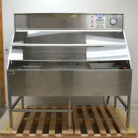 """Calogic Equipment 72"""" x 40"""" x 70"""" Stainless Steel Wet Parts Bench Chemical Baths"""