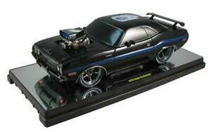 1970 Dodge Challenger Ground Pounders (75th Anniversary) Black 1:18 Scale By M2