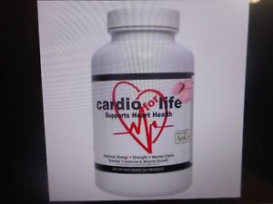 Cardio For Life Heart Health Nutritional Supplement 60 Chewables Berry Flavor