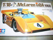 Tamiya 1/18 McLaren M8A 1968 Model Car Kit #10008