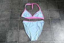 Botas Bikini Talla 14 cielo azul y rosa Buenas Condiciones