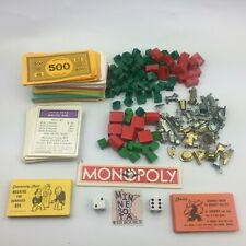 Vtg Monopoly Board Game Replacement Parts - Select Your Own Piece(s)