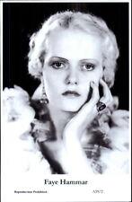Beautiful Actress FAYE HAMMAR A59/2 Swiftsure 2000 Postcard GREAT QUALITY