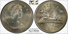 1984 CANADA 5 CENT PCGS MS 65