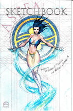 Aspen Convention Sketchbook 2003 Cover C LE 1500 Michael Turner Talent Caldwell