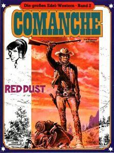 Die großen Edel-Western HC Band 2 Comanche: Red Dust EHAPA, TOP
