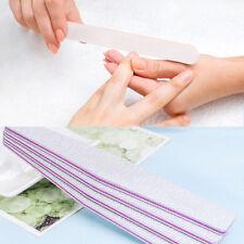 Finger Nail Art Sanding Files Polish Acrylic Block Buffer Manicure Tips Tools