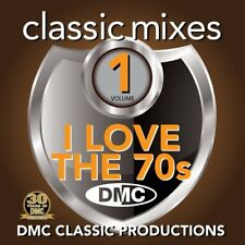 DMC Classic Mixes - I LOVE THE 70s Vol 1 Seventies Music CD