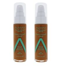 (2) Almay Clear Complexion Make Myself Clear Makeup, 810 Almond