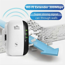 300Mbps Wireless Wi-Fi Repeater Signal Super Booster Amplifier Range Extender