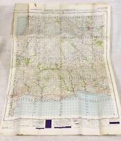 1947 Vintage Militare Mappa Di Bodmin Launcheston Fowey East Looe St Austell