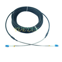 10M Outdoor Field Fiber Patch Cord  LC to LC  LC-LC SM  9/125  Duplex