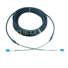 200M Outdoor Field Fiber Patch Cord  LC to LC  LC-LC SM  9/125  Duplex DHL Free