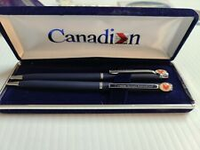 CANADIAN AIRLINES BALLPOINT PEN & PENCIL SET IN ORIGINAL BOX.