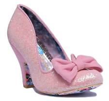 Womens Irregular Choice Nick of Time Pink High Heel Court Shoes Sz Size UK 8 / EU 42 / US 11 / Aus 11